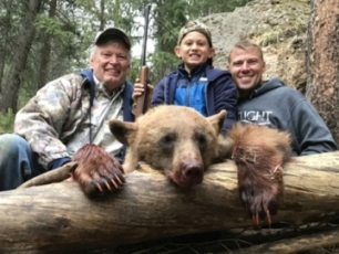 Four generations Spring 2019 Bear Hunt