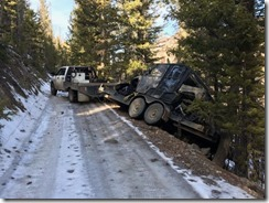 One of the risks we take to pull camp at the end of the elk, mule deer and black bear season