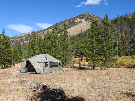 Wild Idaho Outfitters Drop Camp