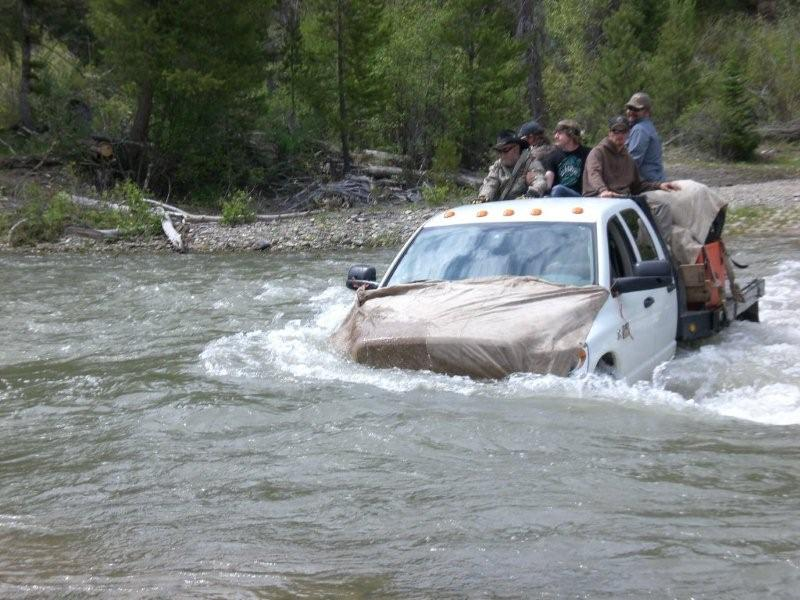 Idaho Spring Bear Hunt River Crossing, Fall Bear Hunts